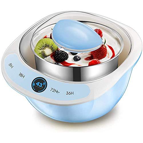 Cestbon Yogurtera eléctrica automática Inoxidable Revestimiento de Acero de arroz natto Vino...