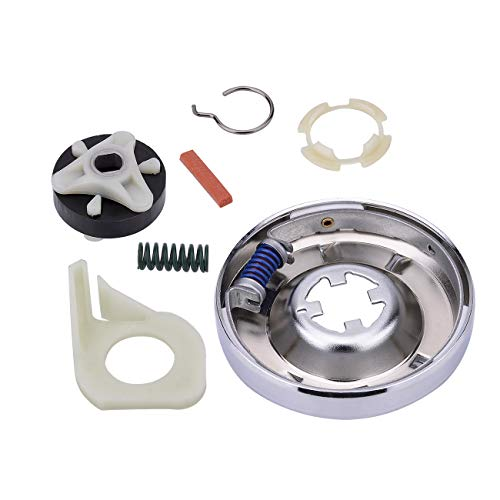 Heavy Duty 285753A Motor Coupling Kit 285785 Washer Clutch Kit For Whirlpool Kenmore Sears Roper Estate Kitchenaid 285331, 3351342, 3946794, 3951311