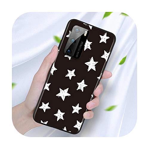 Niedliche Sterne für Huawei Nova 7SE 5G 7i 6SE 5T 5i 5Z 5 4E 4 3i 3E 3 2i 2 Pro Lite 2 2017 Silikon Handyhülle Stil 07-For Nova 4