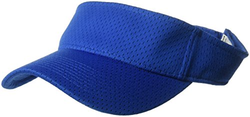 Augusta Sportswear Women's One Size Athletic Mesh Visor, Royal