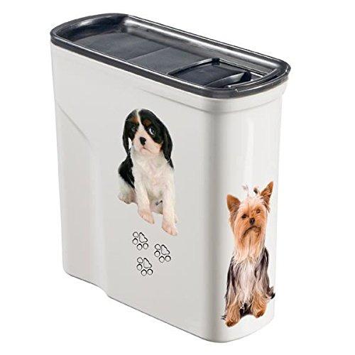 Curver Pet Trockenfutterbehälter mit Deckel, 2Liter
