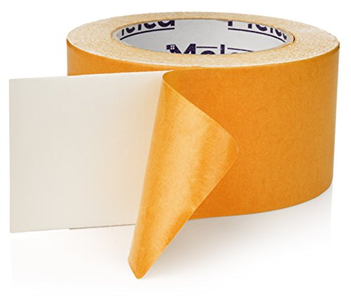 Double Sided Carpet Tape - Rug Tape for Area Rugs on Hardwood, Carpet, Tile (2.5 Inch , 10 Yards)