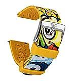 TAAC SPECIAL EDITION - MICHELANGELO LACAGNINA Repuesto en Correa para Relojes y Smartwatch, Made in Italy en Silicona Médica Hipoalergénica, 20mm o 22mm, con Easy Click, Modelo la Lampara
