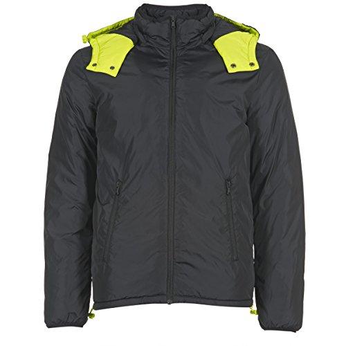 Benetton Cufu Mäntel Herren Schwarz - DE 46 (IT 52) - Daunenjacken Outerwear