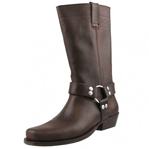 Dockers by Gerli Biker Boots 030140-006044 Dunkelbraun, Schuhgröße:EUR 43