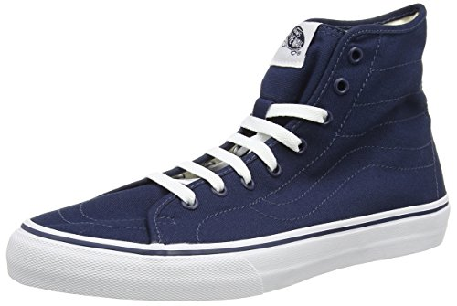 Vans Vans Unisex-Erwachsene SK8-HI Decon High-Top, Blau ((Canvas) Dress Blues/True White), 46 EU