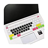 Keyboards 14 pulgadas para teclado Hp cubierta protector teclado pegatinas multicolor suave silicona impermeable película protectora para ordenador D