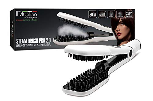 ID Italian Design Cepillo Alisador Steam Brush Pro 2.0