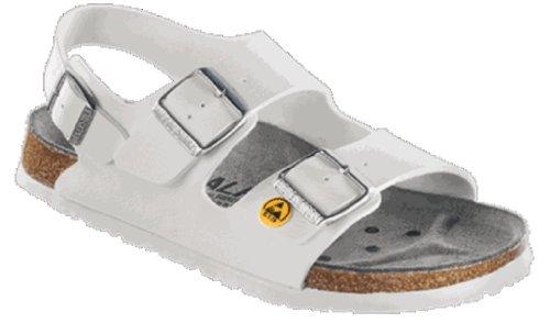 Alpro S 440 ESD Sandalen Antistatik BF, Weiß, Größe 35 mit normalem Fußbett