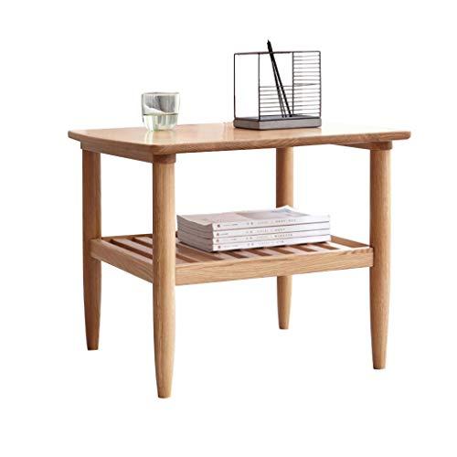 Tables Table Basse Table De Téléphone Table De Chevet Coin Nordique Côté En Bois Massif Minimaliste Moderne Petite Table Ronde Salle De Séjour Canapé Vert Tables de dos de canapé