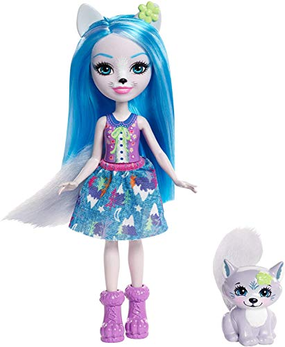 Enchantimals Muñeca con mascota Winsley Wolf (Mattel FRH40) , color/modelo surtido