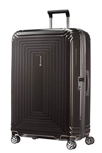 Samsonite Neopulse - Spinner L Koffer, 75 cm, 94 L, schwarz (Metallic Black)