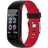 スマートウォッチ 心拍計 萬歩計 健康管理 活動量計 歩數計 ストップウォッチ スマートブレスレット IP67防水 腕時計 著信電話Line通知