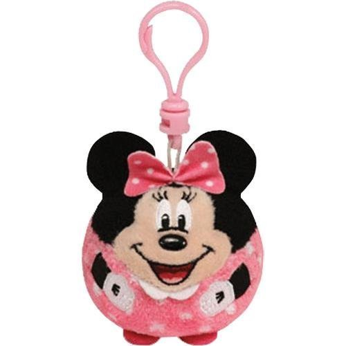 Ty Beanie Ballz Disney Minnie Mouse Clip