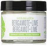 Bregamot + cal, a 2 oz (56,7 g) - Desodorante de Schmidt