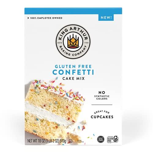 King Arthur Confetti Cake Mix, Gluten Free, 18 Oz