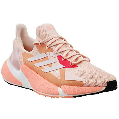 adidas Women's X9000L4 Running Shoe, Pink Tint/White, 7.5