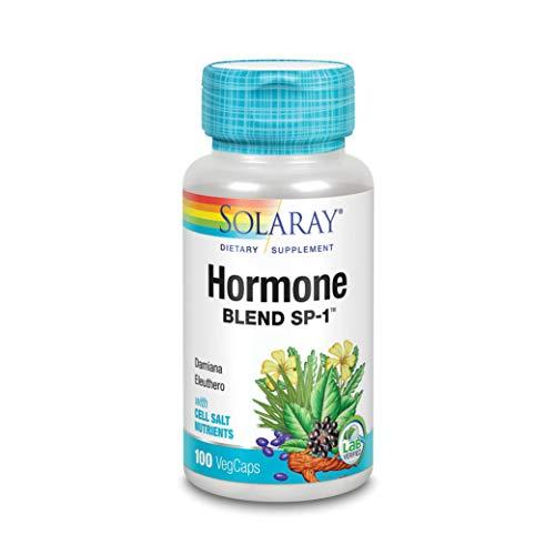 Solaray Hormone Blend SP-1, Veg Cap (Btl-Plastic) 100ct