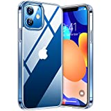TORRAS Diamond Series für iPhone 12/iPhone 12 Pro Hülle Vergilbungsfrei (Extrem Transparent)...