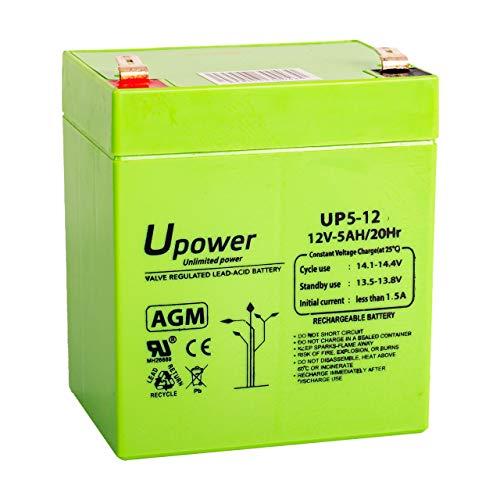 Bateria Plomo AGM 5Ah 12V