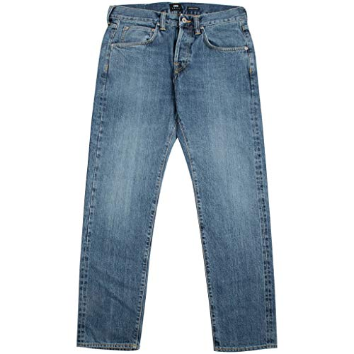ED-55 Red Listed Selvage Jeans - Denim Blue sakiya wash - 36/32