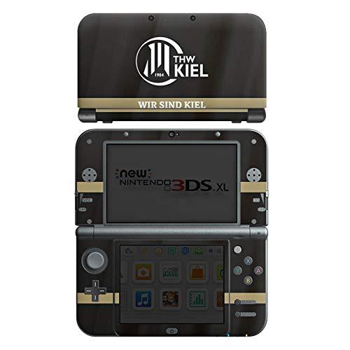 DeinDesign Skin kompatibel mit Nintendo New 3DS XL Aufkleber Sticker Folie THW Kiel Fanartikel Handball