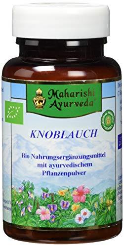 Knoblauch Kapseln BIO (60 Kapseln, 1 x 42 g), vegetarisch, Knoblauch Extrakt geruchlos - von Maharishi Ayurveda