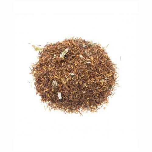 Aromas de Te - Infusion Rooibos Hojas De Frambuesa Y Fresa Ecologico - Te Rooibos con Fresa y Frambuesa Relajante - 100 gr