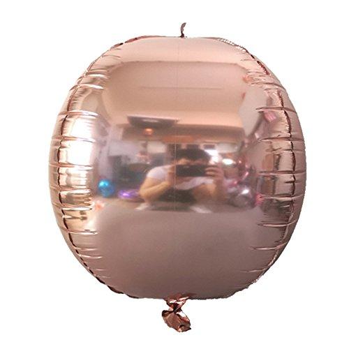 16-Zoll-Aluminium Ballon aus Roségold mit Buchstaben MRS TO BE BRIDE TO BE HEN