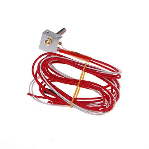 UEETEK Estremità assemblata parte estremitrice per stampante 3D 1.75mm filamento alimentazione diretta 12V estrusore 0.4mm ugello