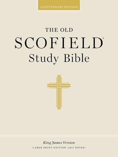 The Old Scofield Study Bible, KJV, Large Print Edition (Black Genuine Leather)