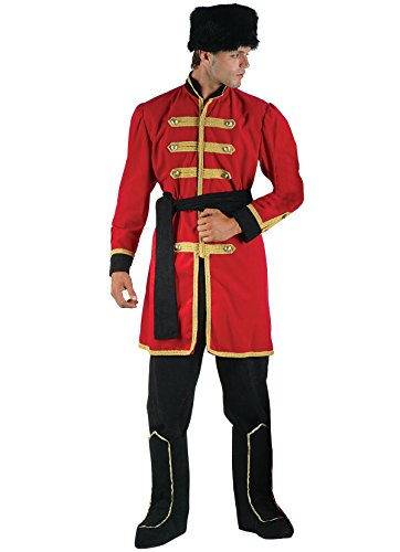 chiber - Disfraz Cosaco Ruso para Hombre