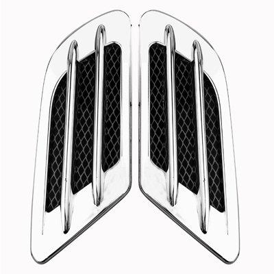 Universel Décoration Voiture d'air universelle 0/Car Styling Accessoires dans Argent