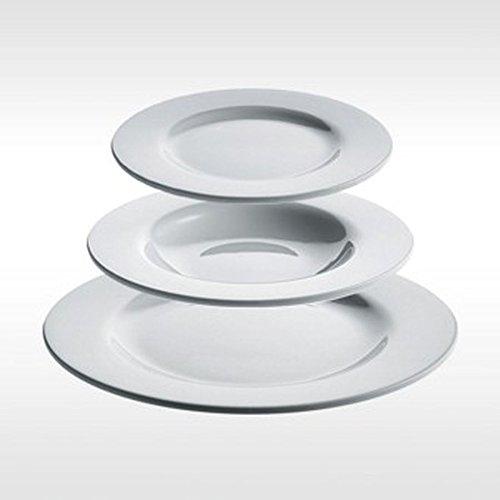 Alessi PlatBowlCup | AJM28S6 - Vajilla completa de 6 piezas de porcelana