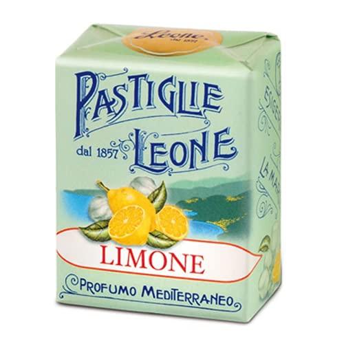 Leone Pastiglie Limone Profumo Mediterraneo - 1 x 30 Grammi