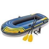 ACEWD 1-3 Personnes Kayak Gonflable de canoë-Kayak de canoë Gonflable de canoë-Kayak avec air, Pompe Ropeon Bateau pour Adultes et Enfants, Bateau de pêche Portable,236 * 114 * 41cm
