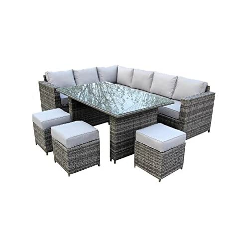 Remarkable Grey Rattan Garden Furniture Amazon Co Uk Interior Design Ideas Gentotryabchikinfo