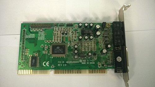 ISA-scheda audio con chipset Avance Logic ALS100 Plus + e connessione per Wave Table