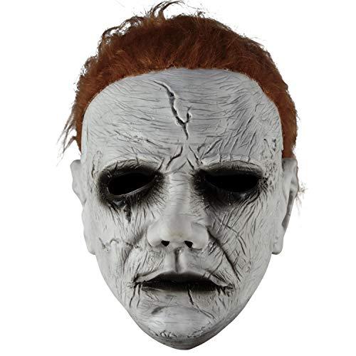 HOMELEX Máscara de Halloween 2018 de Homeex, de Michael Myers, para disfraz Mask1. Talla única