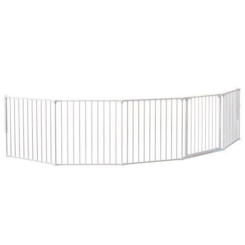 BabyDan Barrière de sécurité XXL Système modulaire et flexible Blanc