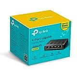 TP-Link LS1005G - Switch Ethernet de 5 Puertos (10/100/1000 Mbps, Velocidad hasta 2000...