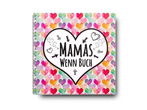 Geschenk zum Muttertag Wenn Buch