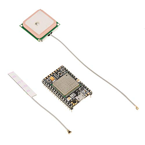 Duokon Módulo de placa de desarrollo GSM/GPRS + módulo GPS/BDS A9G transmisión de datos inalámbrica + módulo de posicionamiento