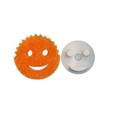 The Sponge Caddy with Suction Base for Kitchen Sink, White - Does NOT Include Sponge. This product is not affiliated with or licensed by Scrub Daddy, Inc. by BeraTek Industries