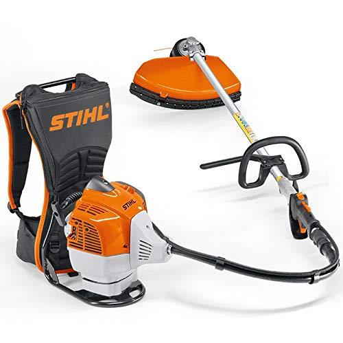 Stihl FR 460 TC-E - Desbrozadora potente de mochila de 3 Hp