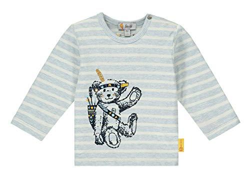 Steiff Baby Shirt lg.A Ju.Ringe Indianer Größe: 086 Farbe: hellblau