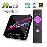Android TV BOX, X3 Android 9.0 TV BOX 4GB RAM/32GB ROM Amlogic S905X3