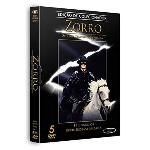 Zorro 2ª Temporada Completa Digibook 5 Discos