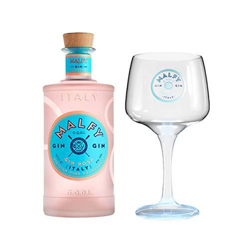 Malfy Gin Rosa + Original Malfy Copa Glas