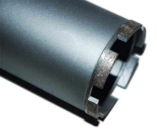 """1¼\"""" UNC Diamantbohrkrone Kernbohrkrone Kernbohrer DM 26-300 mm L 400 mm (Bohrkrone DM 120 mm L 400 mm)"""